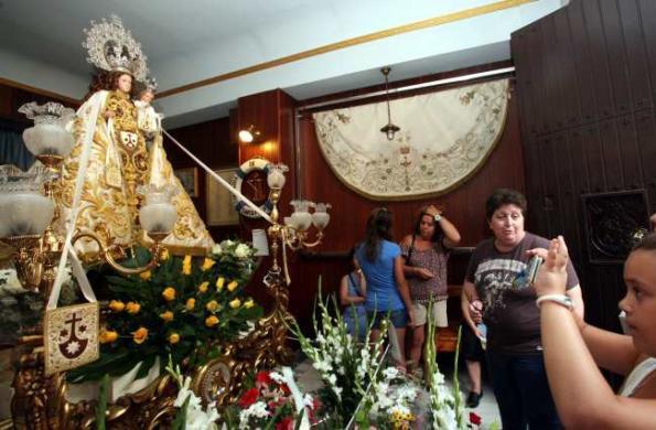 Restauración Virgen del Carmen - Santa Pola - Aurora Arroyo